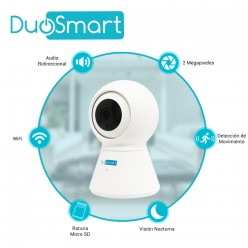 CAMARA SMART WIFI PT MOVIL...