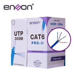 CABLE UTP CAT6 ENSON GRIS...