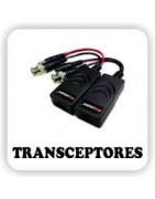 Transceptores para cámaras de seguridad.